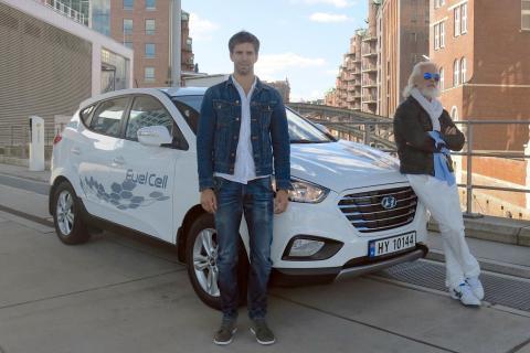 Récord 24 horas de uso del Hyundai ix35 Fuel Cell