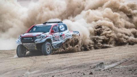 Al Attiyah en la etapa 4 del Dakar 2019