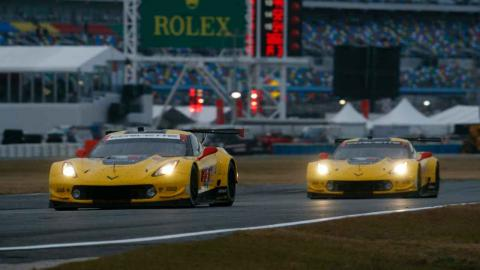 Corvette Racing en Daytona