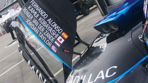 Fernando Alonso, con Cadillac a las 24H Daytona