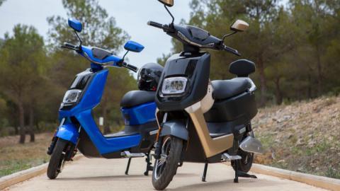 moto electrica urbana scooter