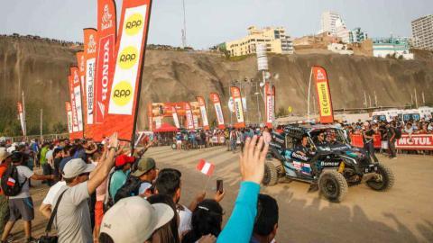 Salida Dakar 2019