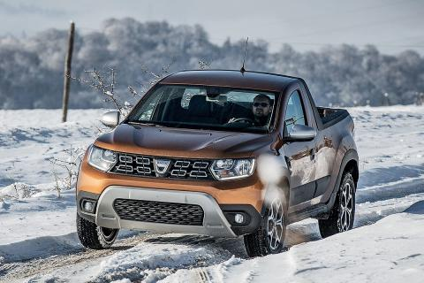 Prueba Dacia Duster pick up