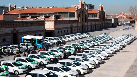 Flota ecológica Ayuntamiento de Madrid