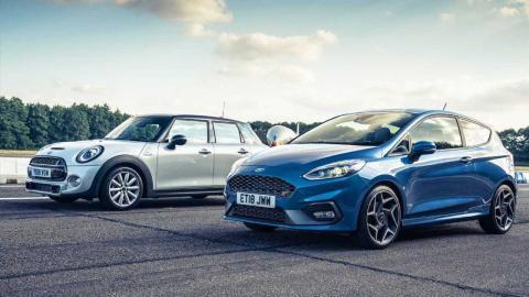 Ford Fiesta ST vs Mini Cooper S