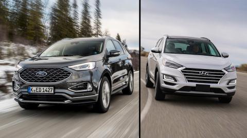 Hyundai Tucson vs Ford Edge