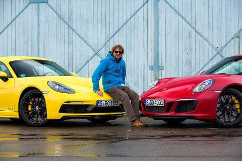 Porsche 911 Carrera GTS vs Porsche Cayman GTS