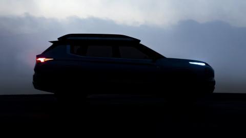 Teaser Mitsubishi Engelberg Tourer Concept