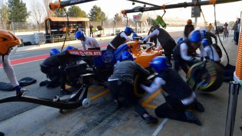 Box McLaren