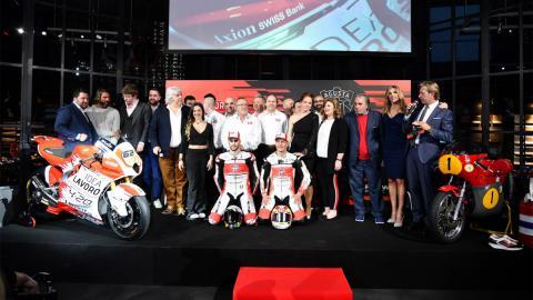 Equipo Forward Racing competicion motociclismo