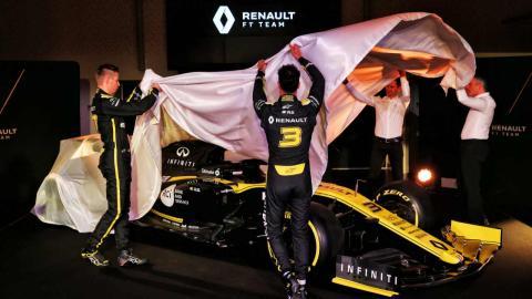Presentación Renault F1