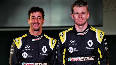 Ricciardo y Hulkenberg