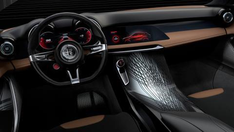 Diseño interior del Alfa Romeo Tonale