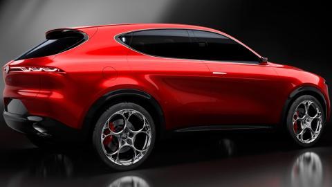 Alfa Romeo Tonale: diseño exterior