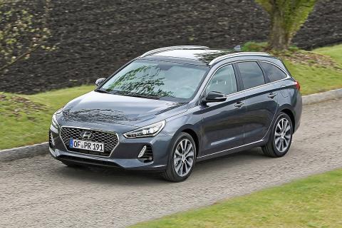 Prueba del Hyundai i30 CW.