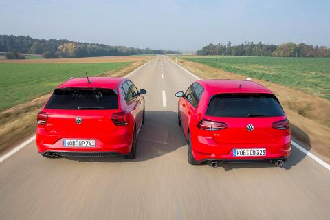 Volkswagen Polo GTI vs Volkswagen Golf GTI Performance