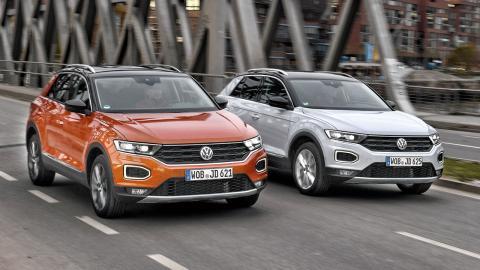 VW T-Roc, ¿diésel o gasolina?