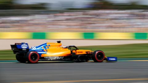 Carlos Sainz en el GP de Australia