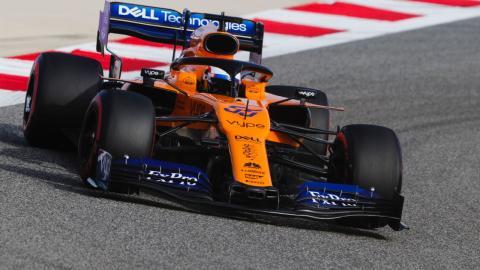 Carlos Sainz en Bahréin
