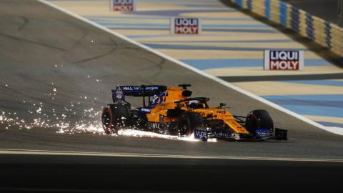Carlos Sainz en el GP de Bahréin