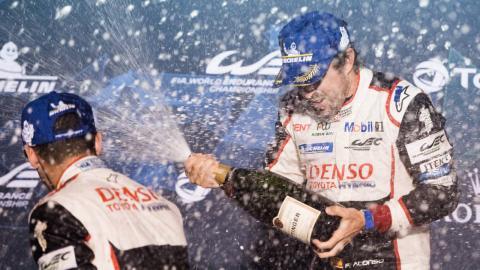 Fernando Alonso gana en Sebring