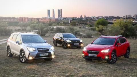 Gama ECO bi-fuel Subaru