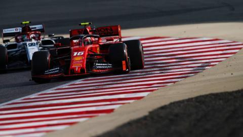 Leclerc en el GP de Bahréin