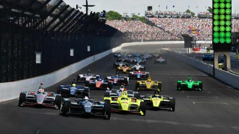 Salida Indy 500 2018