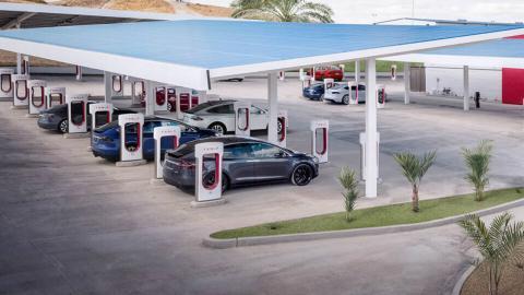supercharger V3 de Tesla