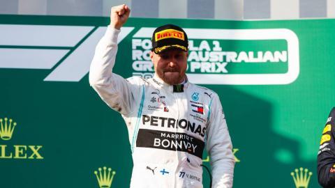 Valtteri Bottas gana en Australia