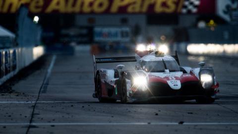 Victoria de Toyota y Fernando Alonso en Sebring