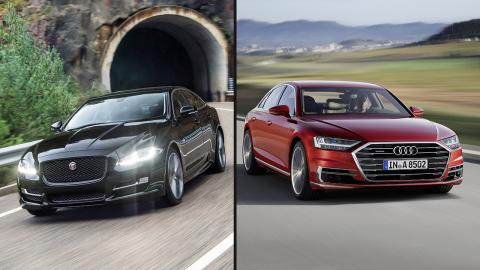 Audi A8 2019 vs Jaguar XJ