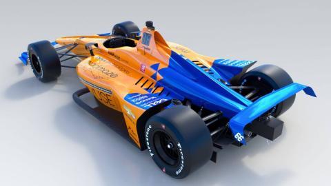 Coche McLaren Indy 500
