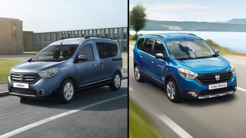 Dacia Lodgy vs Dacia Dokker
