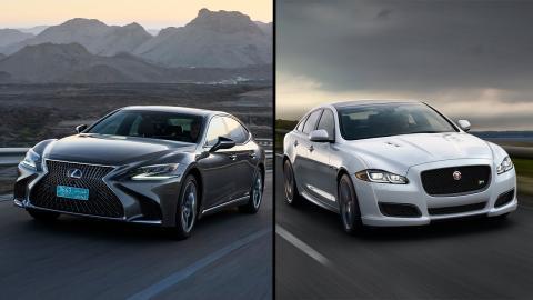 Jaguar XJ vs Lexus LS
