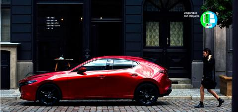 Nuevo Mazda3 etiqueta eco