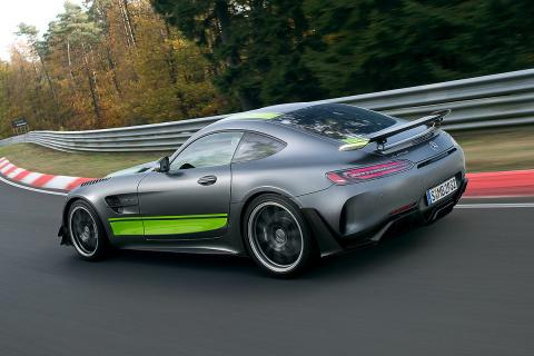 Prueba: AMG GT R Pro