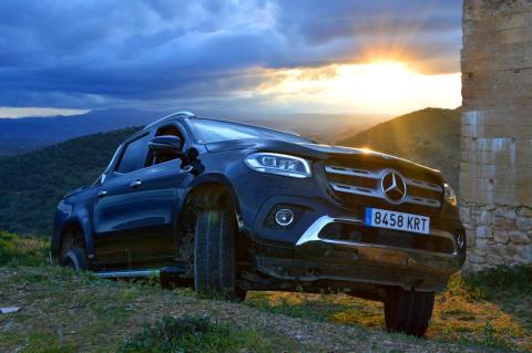 Prueba Mercedes Clase X