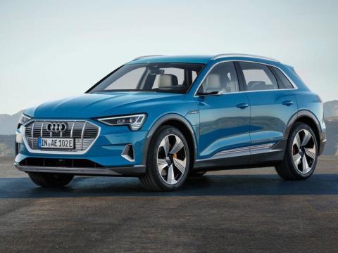 El Audi E-Tron podría llevar tapicería vegana