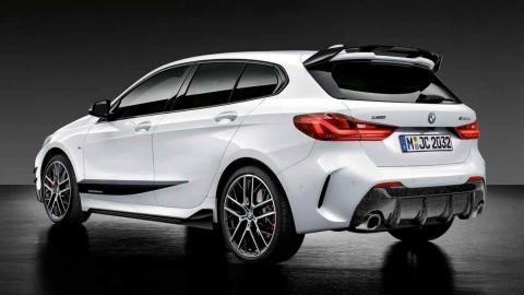 BMW Serie 1 2019 con accesorios M Performance