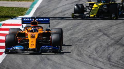 Carlos Sainz en el GP de España