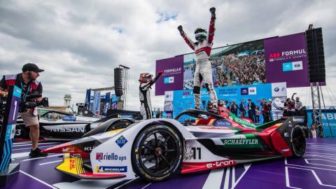 Di Grassi gana en Berlín Fórmula E