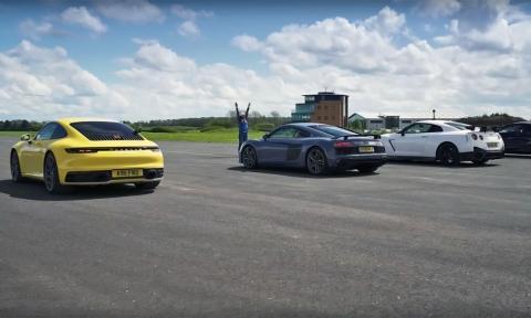Drag Race Porsche 911