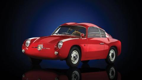 Fiat-Abarth 750 GT 'Double Bubble' Zagato
