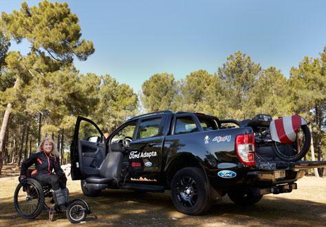 Ford Ranger adaptado
