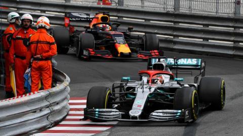 Hamilton gana en Mónaco