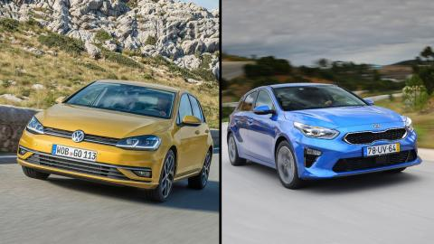 Kia Ceed 2019 vs Volkswagen Golf