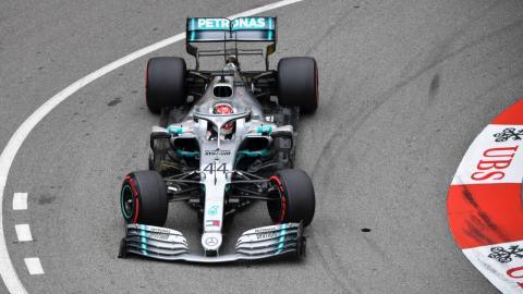 Lewis Hamilton en Mónaco