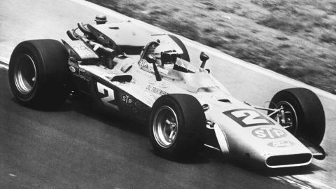Mario Andretti en Indianapolis
