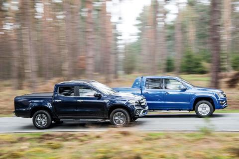 Mercedes Clase X vs Volkswagen Amarok